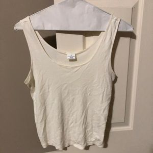 Women's tank Ralph Lauren cream color